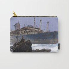 Blue boat colors fashion Jacob's Paris Carry-All Pouch
