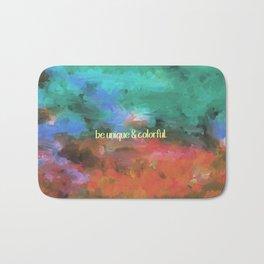 be unique and colorful Bath Mat