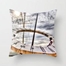 Sundial London Throw Pillow