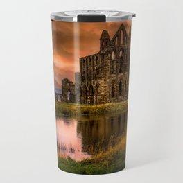 Red Gothica Travel Mug