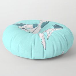 Take a Dive Floor Pillow