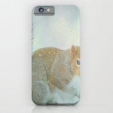 Winter Squirrel Slim Case iPhone 6s