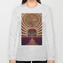 Teatro San Carlo Long Sleeve T-shirt