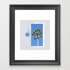 côte Framed Art Print