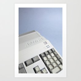 Commodore Amiga A500 Art Print
