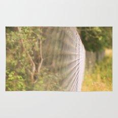 Field fence Rug