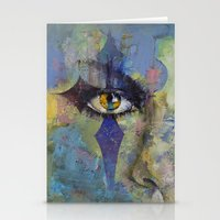 gothic Stationery Cards featuring Gothic Art by Michael Creese