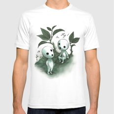 Natural Histories - Forest Spirit studies White MEDIUM Mens Fitted Tee