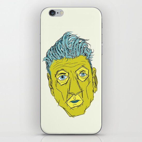 DAVID LYNCH AGAIN iPhone & iPod Skin