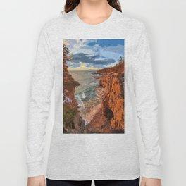 Acadia National Park at Maine Long Sleeve T-shirt