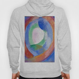 "Robert Delaunay ""Formes circulaires; lune no. 1"" Hoody"
