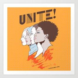 UNITE! Art Print