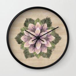 Ipomoea Triloba Sand Wall Clock