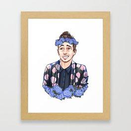 Flower Joseph Framed Art Print