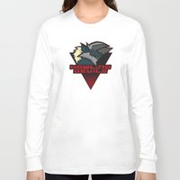 monster hunter Long Sleeve T-shirts featuring Monster Hunter All Stars - Howling Devils by Bleached ink