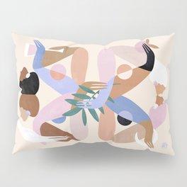 Abstract figure IX Pillow Sham