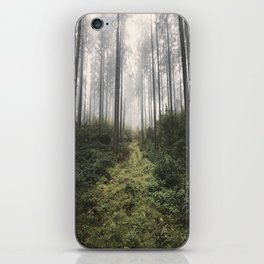 Unknown Road - landscape photography iPhone Skin