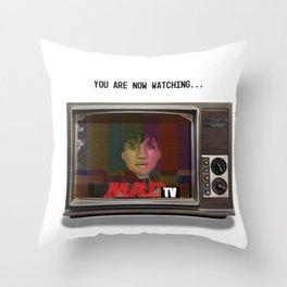 SZA - You Are Now Watching MADtv Throw Pillow