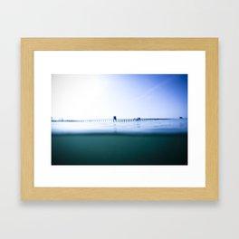 The Oceanside Pier Framed Art Print