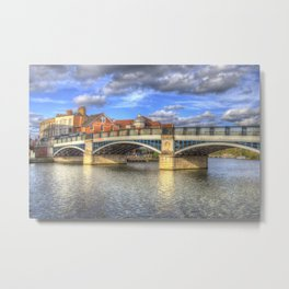 Windsor Bridge Metal Print