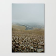 Snowy day on Pikes Peak Canvas Print