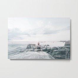 Sea Gaze Metal Print