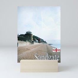 Sandgate, Kent, England Mini Art Print