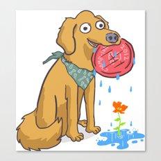 Dog Days Canvas Print