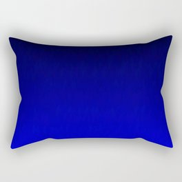 Midnight Black to blue ombre flame gradient Rectangular Pillow