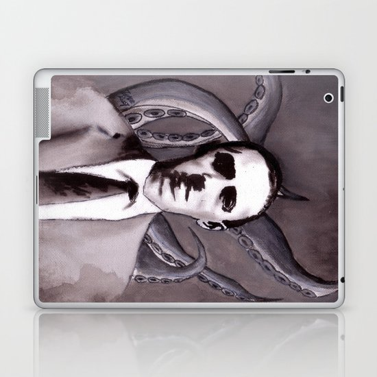 Shuddering At The Nameless Things Laptop & iPad Skin