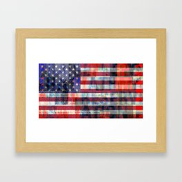 America 3 Framed Art Print