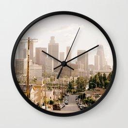 Vintage Los Angeles Wall Clock
