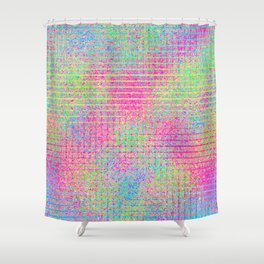 The Incident at The Highlighter Factory Continued Shower Curtain
