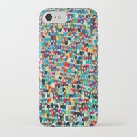 it crowd iPhone & iPod Cases featuring crowd by danielrcart