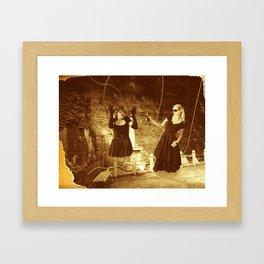Showdown Framed Art Print