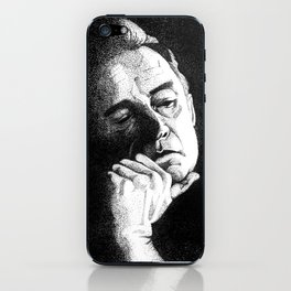 Man In Black JCII Pointillism iPhone Skin