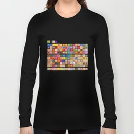 The Periodic Table of the Muppets Long Sleeve T-shirt
