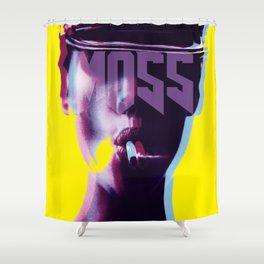 smokin' Moss: iconoclast series Shower Curtain