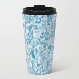 Clear Blue Water Travel Mug