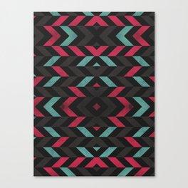 Pattern Center Canvas Print