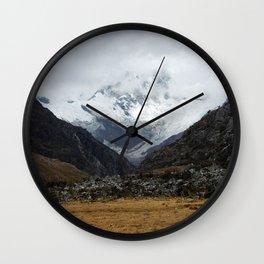 los andes Wall Clock