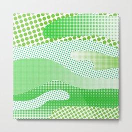 Green Sea Metal Print