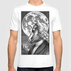lykánthropos MEDIUM Mens Fitted Tee White
