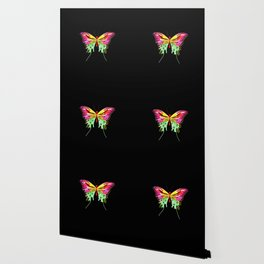 Art-Deco inspired butterfly Wallpaper