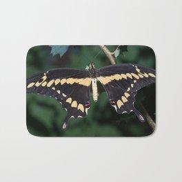 Butterfly wings open Bath Mat