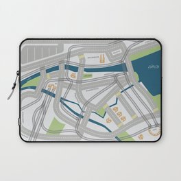The Streets of Zurich Laptop Sleeve