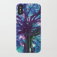 arya iPhone & iPod Cases featuring Arya - The Tree of Life by earthspiritartdesign