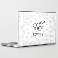 equality Laptop & iPad Skins featuring Marriage Equality by Purshue feat Sci Fi Dude