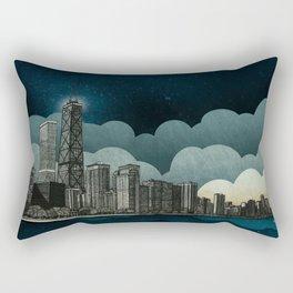 And the Embers Never Fade Rectangular Pillow