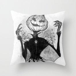 Sketchy Scarecrow Throw Pillow